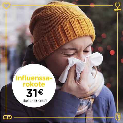 Influenssarokotus Vantaa